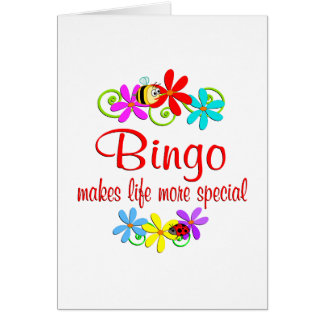 Bingo is Special Greeting Card