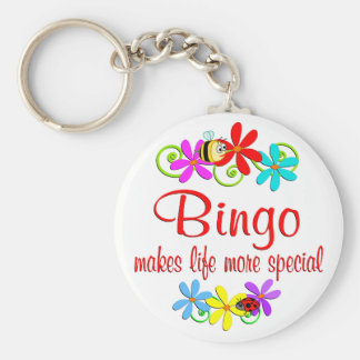 Bingo is Special Keychain