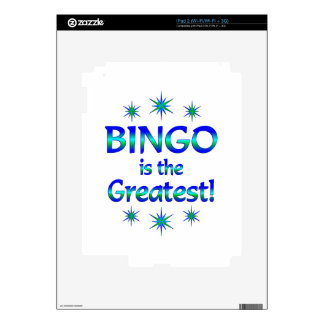 Bingo is the Greatest Decal For The iPad 2