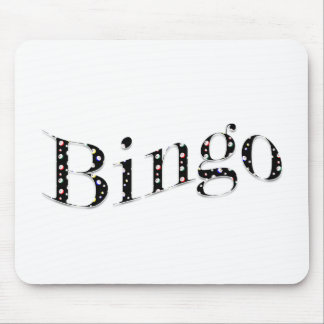 Bingo is your game! mouse pad