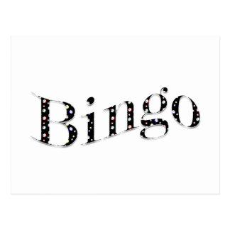 Bingo is your game! postcard