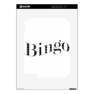 Bingo is your game! iPad 2 decal