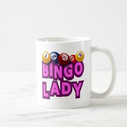 BINGO LADY COFFEE MUG