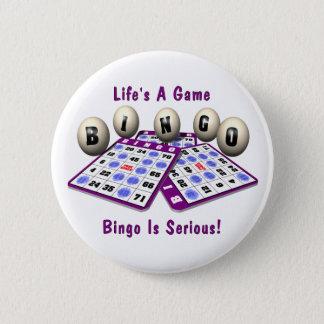 Bingo: Life's A Game Pinback Button