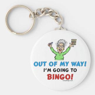 Bingo Lovers Key Chains