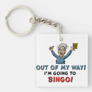 Bingo Lovers Keychain