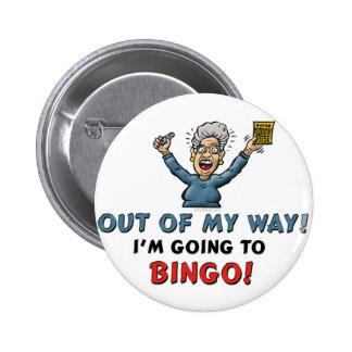 Bingo Lovers Pinback Button