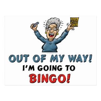 Bingo Lovers Post Cards