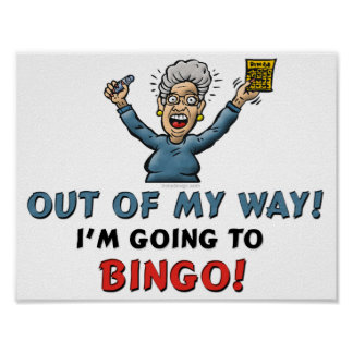 Bingo Lovers Poster