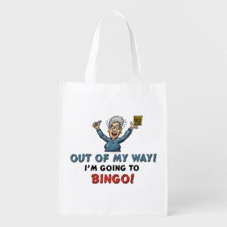Bingo Lovers Reusable Grocery Bags