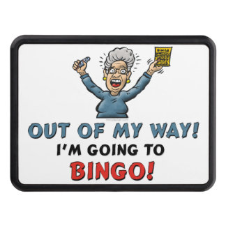 Bingo Lovers Tow Hitch Cover