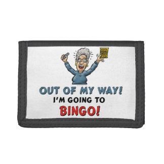 Bingo Lovers Tri-fold Wallets