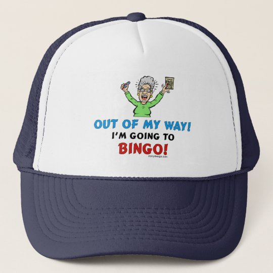 Bingo Lovers Trucker Hat