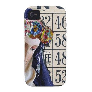 BINGO Madonna, original alterada del arte Case-Mate iPhone 4 Carcasas