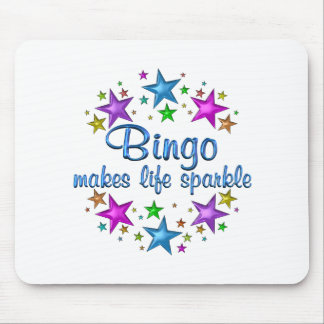 Bingo Makes Life Sparkle Mouse Pad