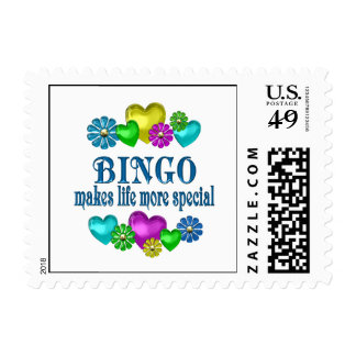Bingo More Special Stamp