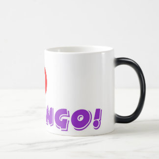 Bingo morphing mug