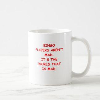 bingo coffee mugs