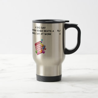 bingo 15 oz stainless steel travel mug