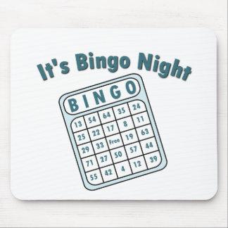 Bingo Night Card Mouse Pad