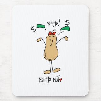 Bingo Nut Mouse Pad