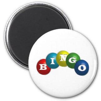 Bingo o loteria - opción para personalizar su engr imanes