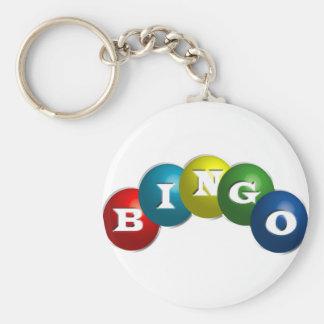 Bingo o loteria - opción para personalizar su engr llavero redondo tipo pin