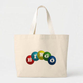 Bingo or Lotto - option to personalize your gear. Jumbo Tote Bag