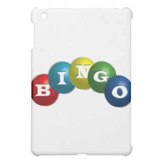 Bingo or Lotto - option to personalize your gear. iPad Mini Covers
