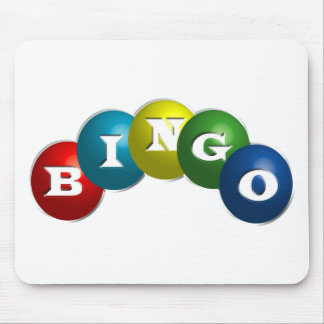 Bingo or Lotto - option to personalize your gear. Mouse Pad