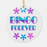 Bingo para siempre adorno
