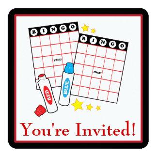 Bingo Party Card