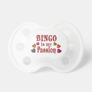 Bingo Passion Baby Pacifier