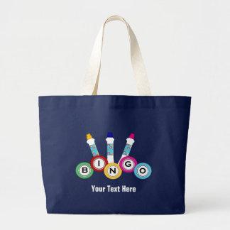 Bingo (personalizable) bolsa tela grande