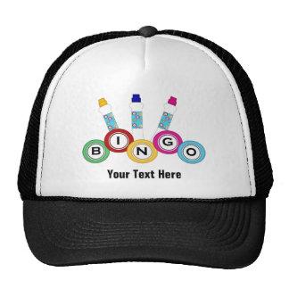 Bingo (personalizable) gorras