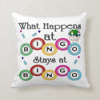 Bingo Pillows