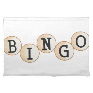 Bingo Placemat