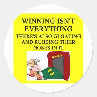 bingo player joke stickers