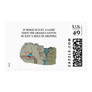 BINGO player Postage