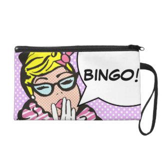BINGO Pop Art Wristlet