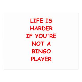 bingo post card