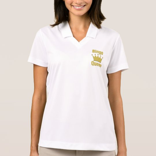 Bingo Queen Polo Shirt