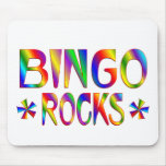 BINGO Rocks Mouse Pads