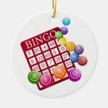 bingo rocks ornaments