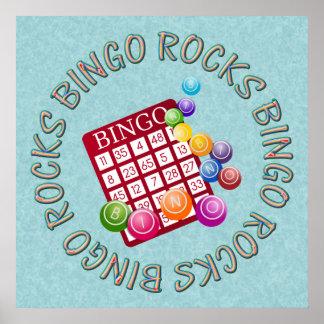 bingo rocks poster