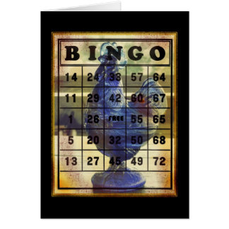 Bingo Rooster Card