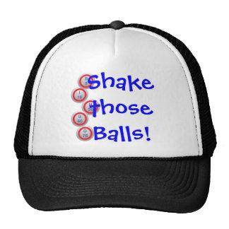 ¡Bingo ¡Sacuda esas bolas Gorras De Camionero