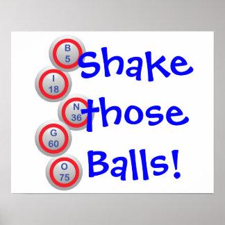 ¡Bingo! ¡Sacuda esas bolas! Impresiones