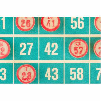 Bingo Score Card Closeup Statuette