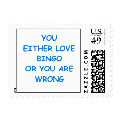 bingo sellos